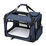 LEMAIJIAJU Caisse de Transport Chat Sac de Transport Pliable Cage de Transport pour...