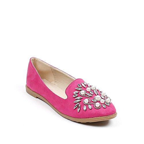 Ideal Shoes, Mocassini donna Fuchsia