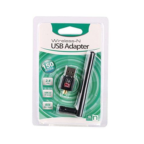 Tracffy Mini USB Adapter 150 Mbps Wifi 2dB Antenne PC Wireless Netzwerkkarte Empfänger USB Wi-Fi 802.11b/n/g High Speed USB Lan Ethernet