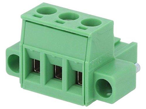MSTB2.5/3STF5.08 Pluggable terminal block 5.08mm ways3 straight plug -