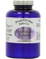 Brightbridge Salts Sels d'Epsom avec de l'huile de lavande 500g