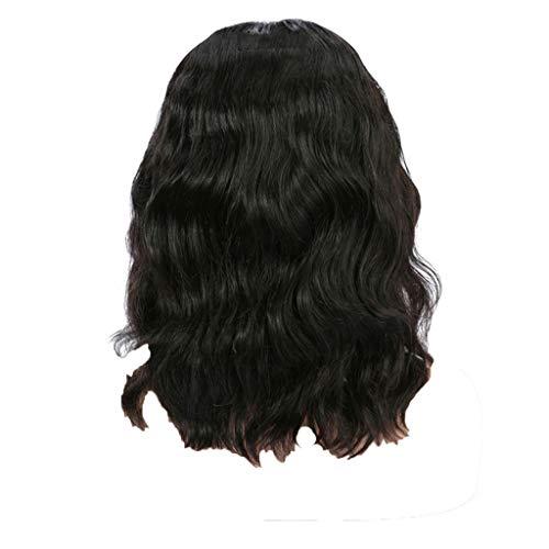 Anney Damen Perücken Perücke Blond stilvoll schick gelockt Lang Haar Wigs für Karneval Cosplay Halloween (Perücken Kinder Verkleiden)