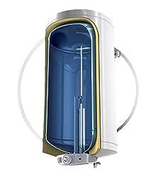 100 L Liter wandhängender Warmwasserspeicher druckfest 230 Volt/ 50 Hz inkl. Sicherheitsventil und Wandhalterung