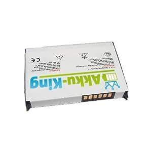 Akku-King Li-Polymer Batterie pour MDA Vario, XDA Mini Pro, Mini S, Qtek 9100, i-Mate K-jam, Dopod 838, HTC P3400, Vodafone VPA Compact 2 - remplace WIZA16 - 1400mAh
