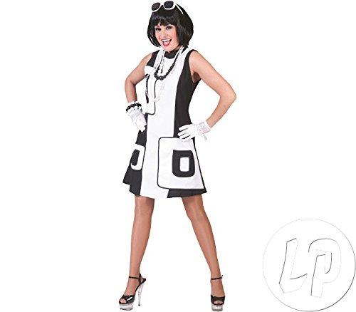 Retro Girl 60er Jahre Kostüm Damen Gr. 36 38