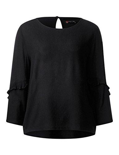 Street One Blouse Femme Schwarz (Black 10001)