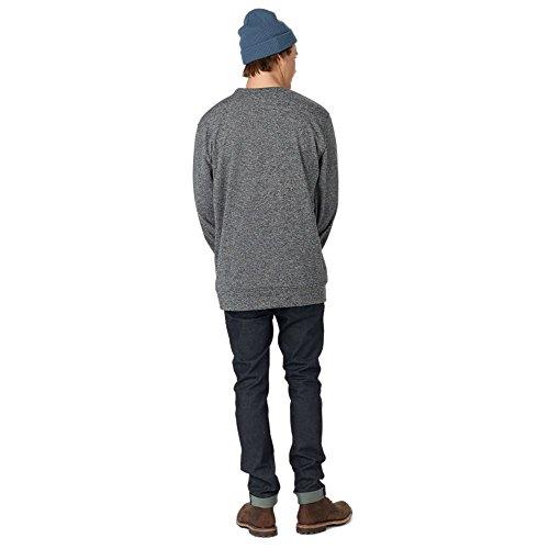 Burton Herren Oak Crew Sweatshirt True Black Heather