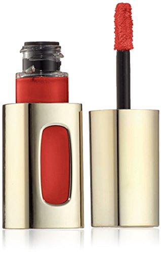 L'Oreal Paris Lippen Make-up Color Riche L'Extraordinaire, 301 Rouge Soprano/pflegende Kombination aus Lippenstift und Lipgloss - für volle Lippen mit Glanz, 1er Pack - Rouge-stift