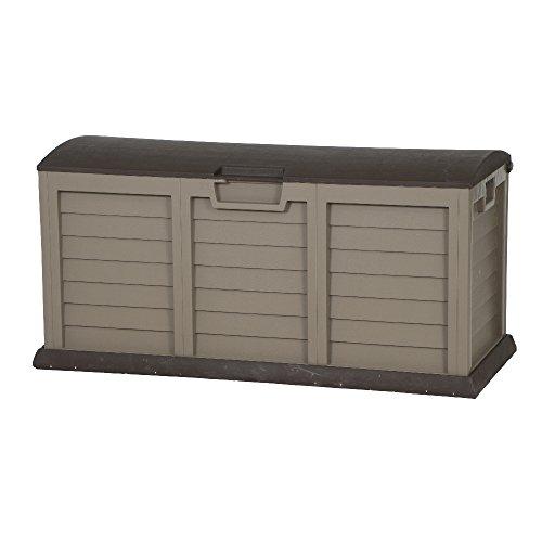 H.G. 00-811-MARON Kissenbox XXL aus hochwertigem, unverwüstlichem Kunststoff, 61,5 x 141,5 x 68 cm,...