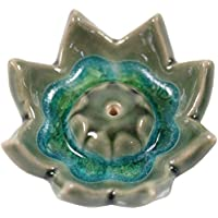 Guru-Shop Keramik Räucherteller `Lotusblüte`, 2x6x6 cm, Räucherstäbchenhalter preisvergleich bei billige-tabletten.eu