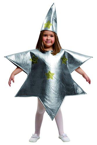 für Mädchen Stern viving Costumes 7-9 años silber ()