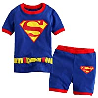 superman pajama Blue Sleepwear For Boys