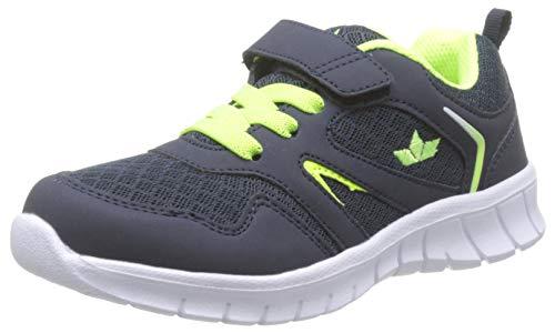 Lico Jungen Skip VS Sneaker, Blau Marine/Lemon, 28 EU