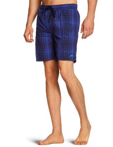 Speedo maillot de bain pour homme chk leis 18 wsht am Bleu - Bleu marine/imprimé