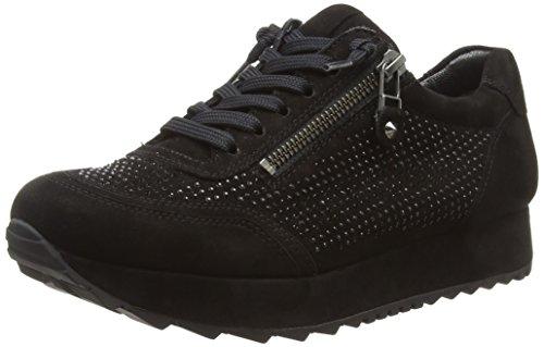 Kennel und Schmenger Damen Cat Sneaker, Schwarz (Black Sohle Ocean 480), 39 EU