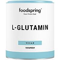 foodspring L-Glutamin Kapseln, 120 Stück, Vegan, Für optimale Regeneration, Hergestellt in Deutschland nach strengsten... preisvergleich bei fajdalomcsillapitas.eu