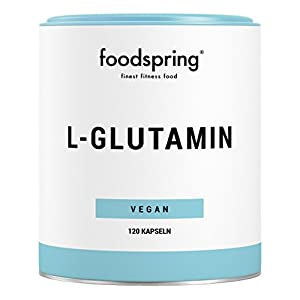 416b 49bpjL. SS300  - foodspring L-Glutamine, 120 Capsules, Vegan, For Faster Recovery