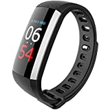 New Color Display Heart Rate Blood Pressure Oxygen Monitor, Sports Fitness Activity Tracker, Step Walking Sleep Counter IP67 Waterproof Wristband Pedometer Bracelet For Android And IOS .