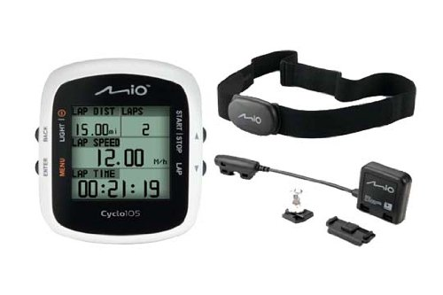 Mio Cyclo 105 HR Plus C Cycle GPS Computer - Black