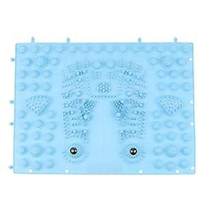 Fenteer Reflexzonen Massage Shiatsu Akupunktur Fußmassage Pad Toe Druckplatte Matte