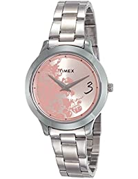 Timex Fashion E Class Analog Pink Dial Women's Watch - TI000T60100
