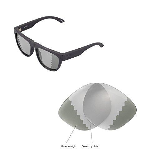 Walleva Ersatzgläser für Spy Optic Wayfarer Sonnenbrille - Mehrfache Optionen verfügbar (Übergang - Polarisiert)
