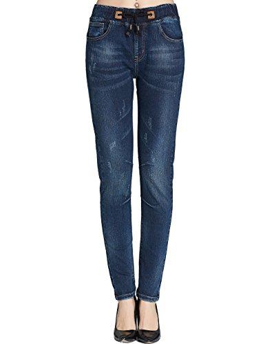 Camii Mia -  Jeans  - tapered - Donna Blue 28W x 30L