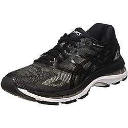 Asics Gel-Nimbus 19, Zapatillas de running Para Mujer, Negro (Black/Onyx/Silver), 39 EU