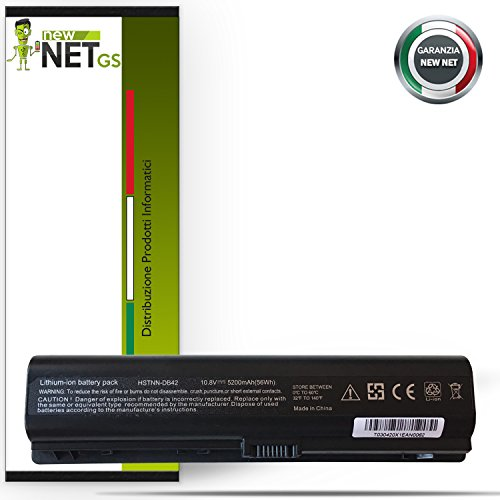 Batería para HP Compaq 436281–361| HSTNN-LB31| 441425–001de 5200mAh 10.8V–11.1V Compatible con DV2210TU DV2210TX DV2210US | | | DV2211TU DV2211TX DV2212TU | |