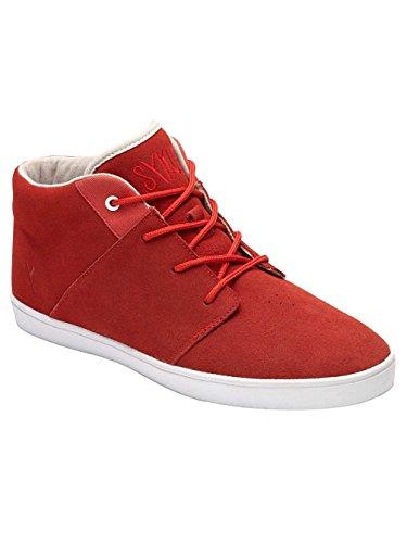 Sykum - Porto, Sneakers stringate Unisex – Adulto Rosso