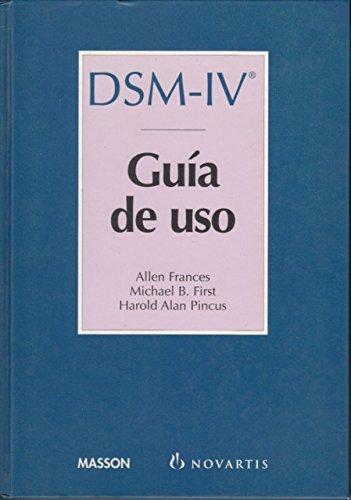 dsm-iv-guia-de-uso-manual-diagnostico-y-estadistico-de-los-transtornos-mentales-1-edicion