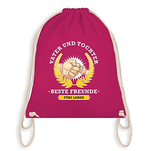 Vatertag - Vater und Tochter - beste Freunde fürs Leben - Turnbeutel I Gym Bag Fuchsia