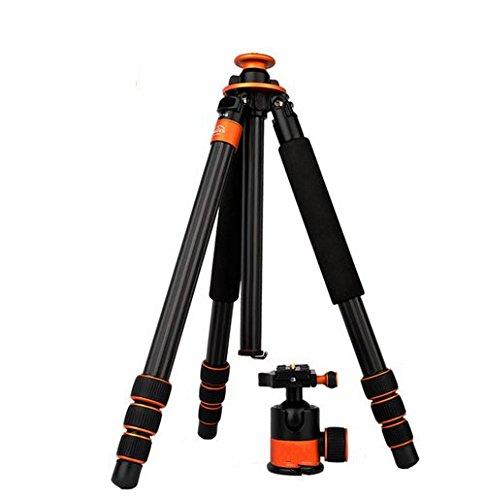 Preisvergleich Produktbild Gowe Professional Carbon Stativ Einbeinstativ mit 45mm Dia Kugelkopf für Canon Nikon Sony Olympus Digital SLR DSLR Kamera