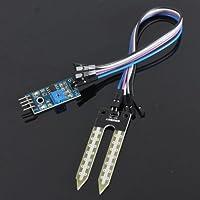 SODIAL(R) Suelo higrometro Deteccion de humedad Modulo Sensor de humedad Prueba de Arduino PI