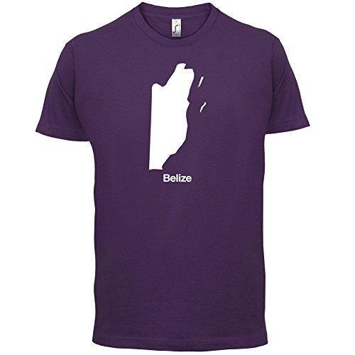 Belize Silhouette - Herren T-Shirt - 13 Farben Lila
