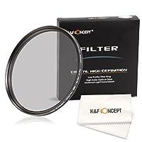 Filtro Polarizador Circular de K&F Concept® 67mm Súper Delgado CPL Filtr...