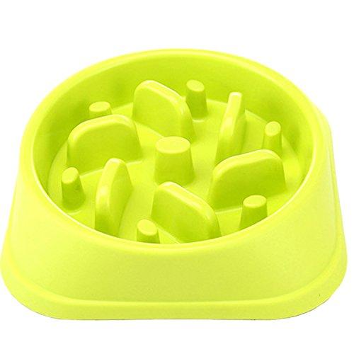 eJiasu Bol de chien facile à nourrir lentement, écologique, durable, non toxique, alimentateur, alimentateur, alimentateur, bol pour chiens et chats (Multicolor-3pcs)