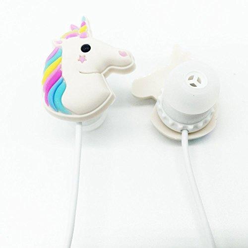 Garantie 1Jahr: N Ear kabelgebunden 3,5mm 3D Niedlich Cartoon Tier Einhorn Kopfhörer/Kopfhörer/Kopfhörer mit Mikrofon Freisprechanlage für Apple, Samsung, HTC, Smartphones Android MP3