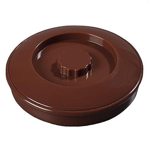 Carlisle 047528per Tortilla Server con coperchio, cioccolato