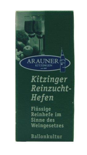 Arauner Kitzinger Reinzucht-Hefen Sherry, Art. 0008, für 50 Liter