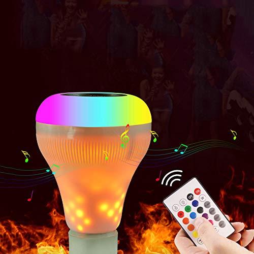 SSCJ Disco Lights, wiederaufladbare Disco Ball Lights 4 Farben RGBP Party Lights Blitzleuchten Fernbedienung Musik DJ Lights LED Bühnenlicht für Geburtstagsfeiern Pub -