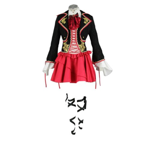 Rin Kostüm Kagamine Cosplay - Dream2Reality Vocaloid Family Cosplay Kostuem - Sandplay Singing of the Dragon Kagamine Rin Kid Size Large