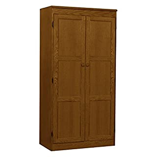 Cabinet Storage Organization Office Home Kitchen Bathroom Shelving Unit Files Food Versatile storage options Engineered wood Dry Oak finish Shelves: 2 adjustable, 1 fixed 30Wx17.1Dx60Hin