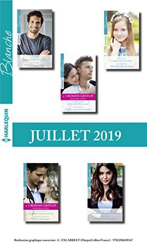10 romans Blanche + 2 gratuits (n°1436 à 1440 - Juillet 2019) par Collectif