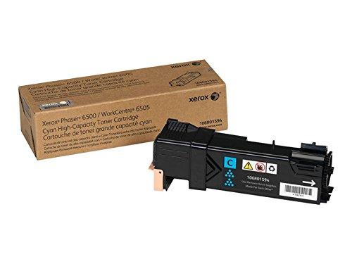 Xerox 106R01594 Phaser 6500, WorkCentre 6505 Tonerkartusche cyan hohe Kapazität 2.500 Seiten...