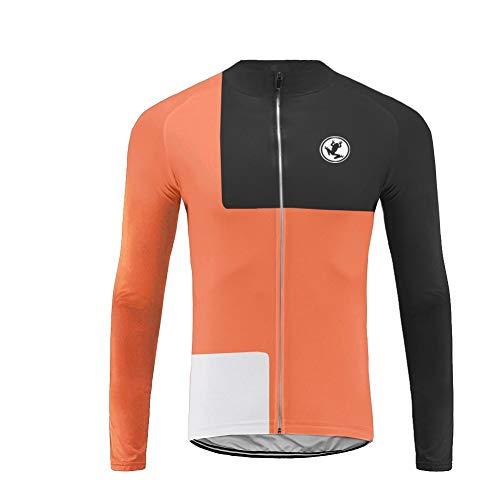 Uglyfrog Fahrradjacke Jersey Sportswear Winter Fleece Warm Lange Ärmel Winddicht Coat
