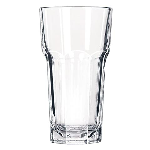 Gibraltar Tall Cooler Glasses 12.3oz / 350ml - Set of 12 - DuraTuff Toughened Highball Glasses