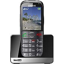 Maxcom - Mm721 - móvil con Teclas Grandes y botón sos para Gente Mayor - Negro
