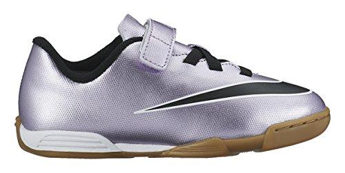 Nike Unisex-Kinder Mercurial Vortex Ii (V) Ic Fußballschuhe Lila / Schwarz / Gelb / Weiß (Urbn Flieder / Blk-brght Mng-weiß)