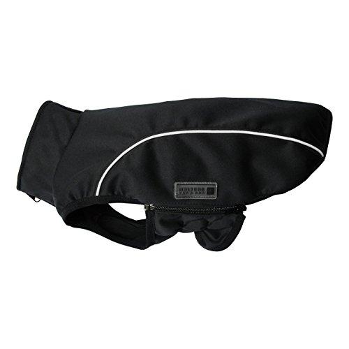Wolters | Softshell-Jacke Basic in Schwarz/Limone | Rückenlänge 60 cm